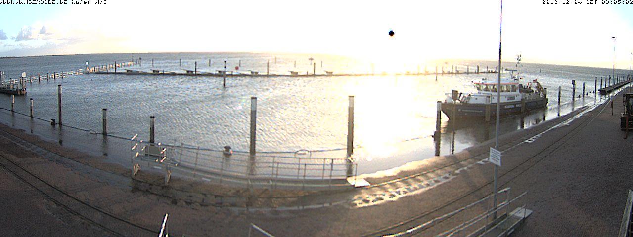 Webcam Hafen / Anleger Wangerooge